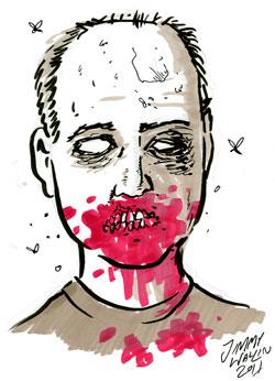 mig själv som zombie