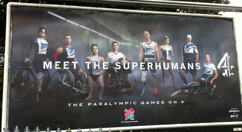 superhumans paralympics